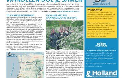 Wandelen doe je samen – Haarlems Weekblad (PDF)