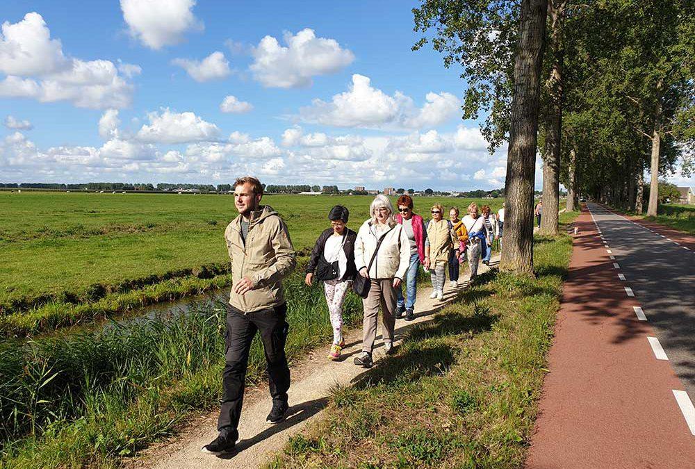 Eerste wandeling in Amstelveen maandag 2 september 2019