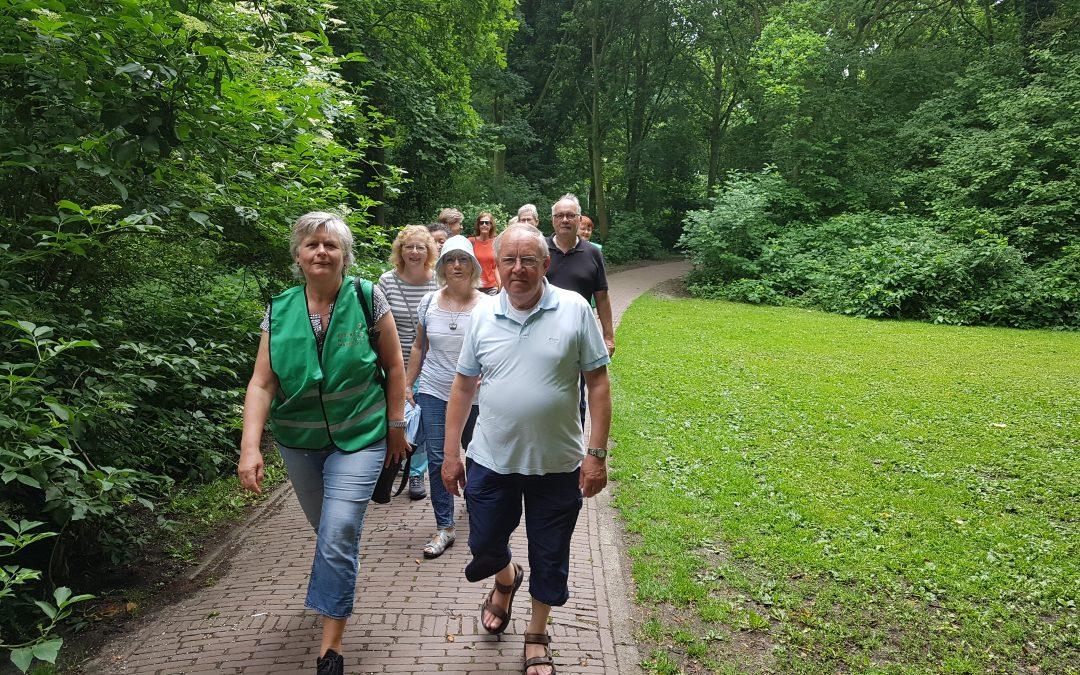 Eerste wandeling Oud-Beijerland 1 juni 2018