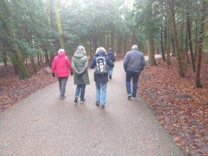 Amsterdamse Bos wandelgroep
