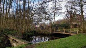 Polderpark Cronesteyn bruggetje
