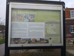 informatiebord de Akermolen