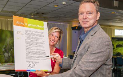 Stichting Gezond Natuur Wandelen tekent voor landelijke samenwerking