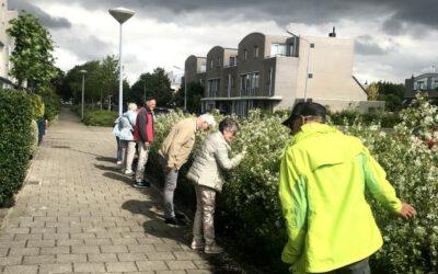 Eerste wandeltocht in Hoofddorp een waar feest, maandag 8 juni