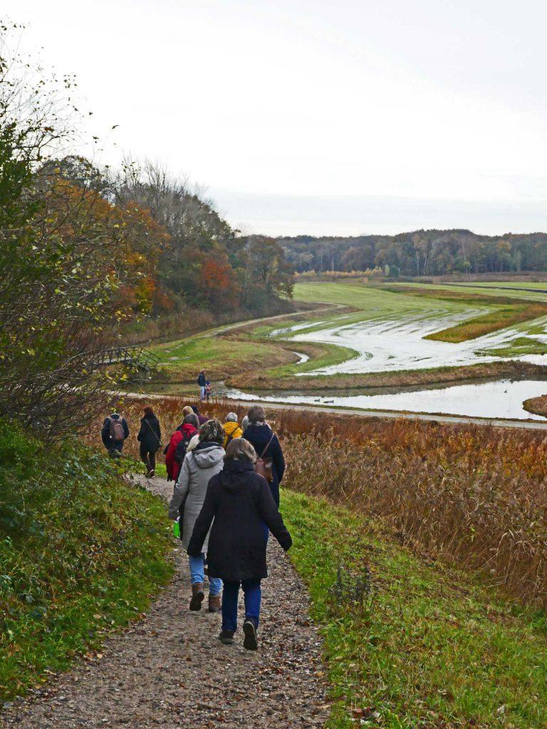 wandelgroep in Middenduin