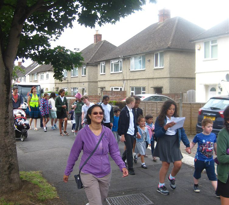 Green Health Routes in Engeland