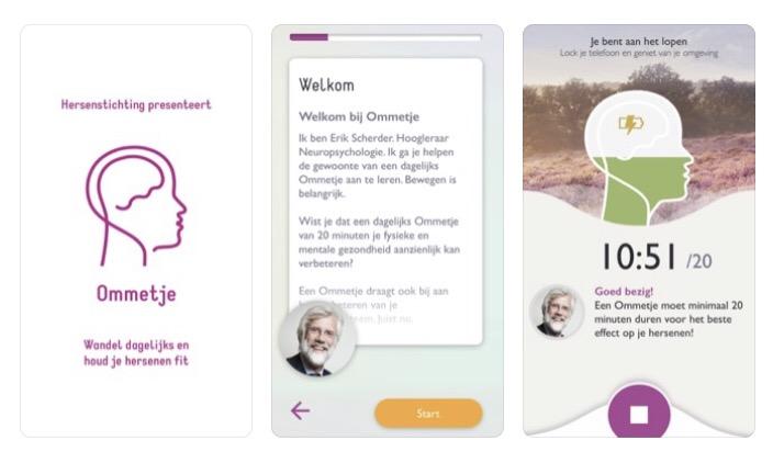 Verbeter je gezondheid! Download gratis de Ommetje-app - Gezond Natuur  Wandelen