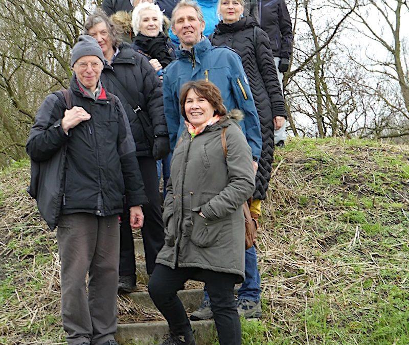 Delft, 4 april 2018, eerste wandeling