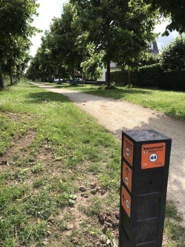 Routebordje regionale wandelroutes