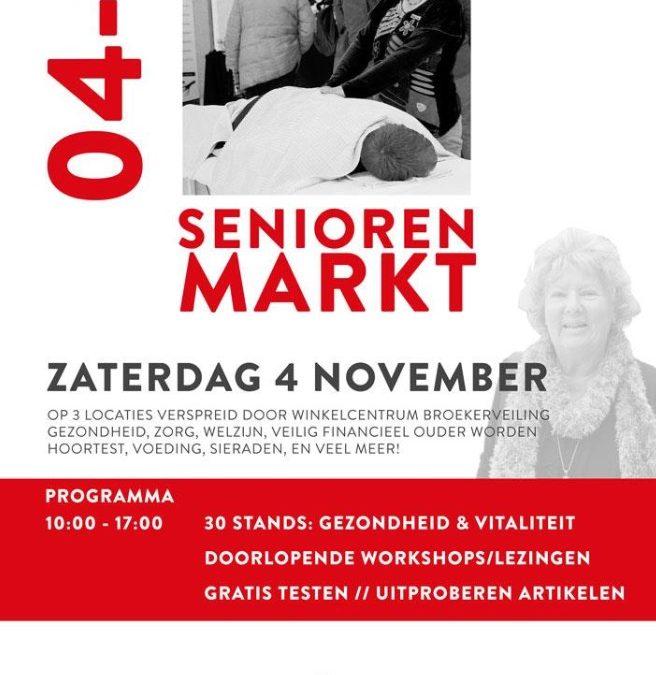 Seniorenmarkt zaterdag 4 november