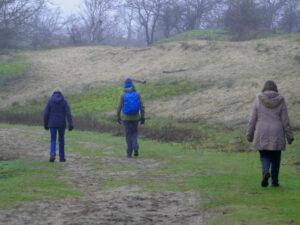 wandelaars Gezond Natuur Wandelen