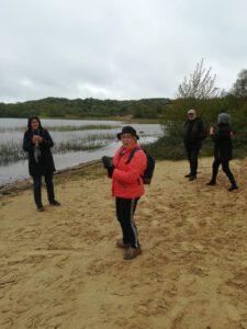 wandelgroep in Zuid-Kennemerland Het Wed