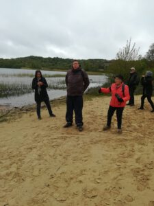 Wandelaars in Zuid-Kennemerland Het Wed