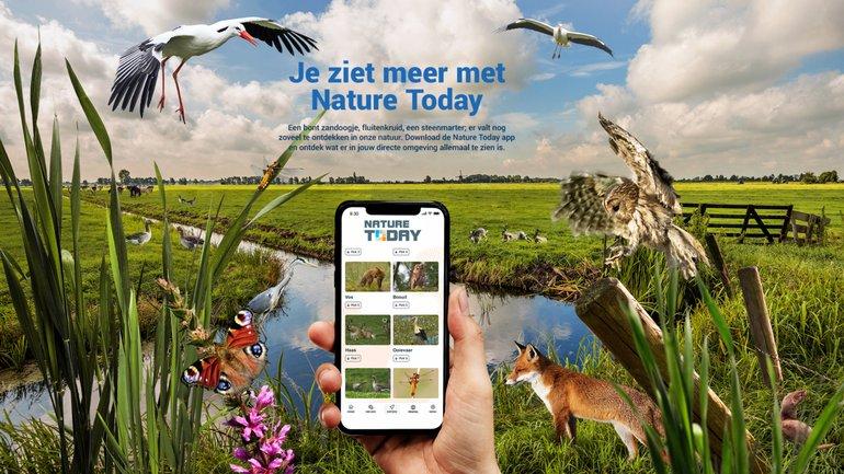 Nu met NatureToday.nl: ontdek de natuur rondom je huis