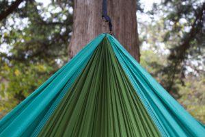 hangmat aan boom